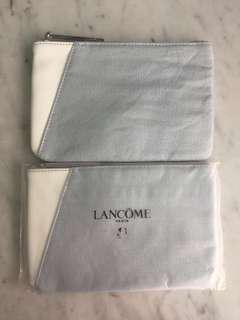 *NEW* LANCOME Flat Pouch Small in Silver