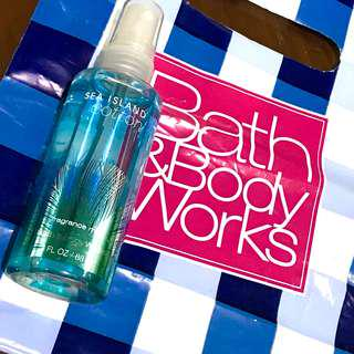 Authentic Bath & Body Sea Cotton Body Spray Cologne