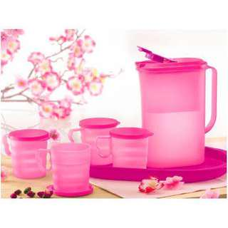 Full Set - Tupperware - Sakura Drinking Set