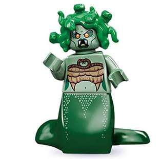 LEGO minifigure series 10 medusa