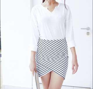 Irregular skirt