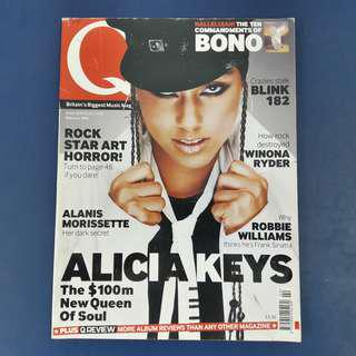 Q Magazine: February 2002 - Alicia Keys