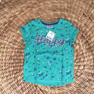 Next Baby Girl T-Shirt 18/24 New With Tag