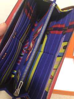 Hermes long silk in wallet