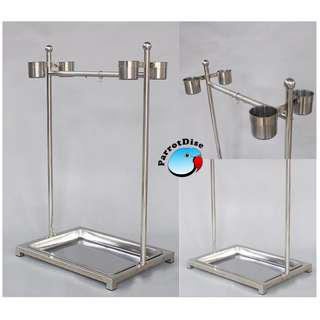 Parrot Stainless steel stand