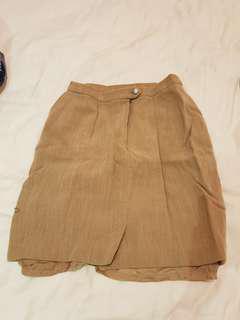 Women skirt brown