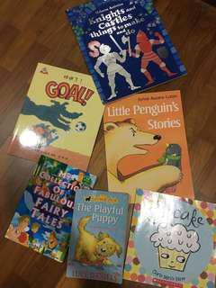 Children's Books 6 for $8