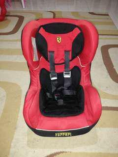 Car Seat Ferrari