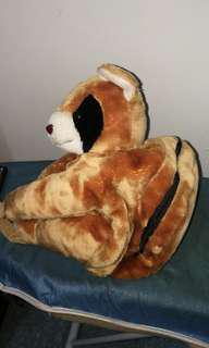 Panda soft toy back pack