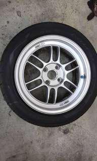 Enkei RPF1 original japan with AD08 tyre