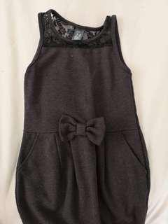 Zara little black dress 3-4yrs old