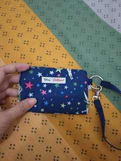 Dompet koin (purse) motif Tinkerbell Disney ASLI tanpa label dan tag