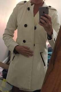 White/cream Guess brand winter jacket