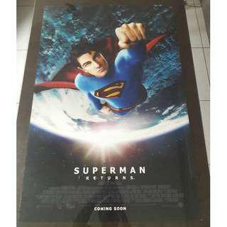 Superman Returns (B) - Original Film Poster