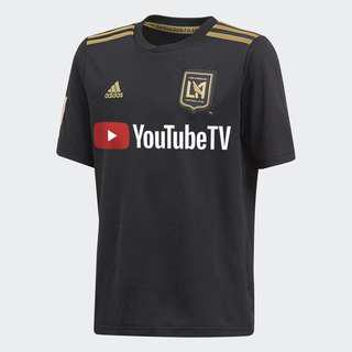 Adidas💯% Authentic Major League Soccer (MLS) Los Angeles Football Club (LAFC) home jersey for SGD$55 (size S)