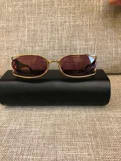 CHANEL 真品大雙C金屬框太陽眼鏡