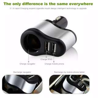 Car Charger / Car USB Charger / Multi Charger / charger socket