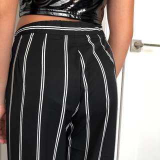 RARE Brandy melville stripe tilden pants