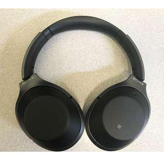 Sony WH-1000XM2 Noise-Canceling Wireless Headphones. 2 months old, barely used, with warranty