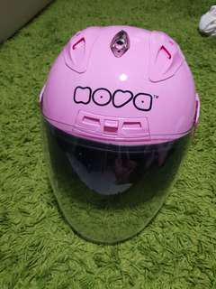 Nova half face helmet