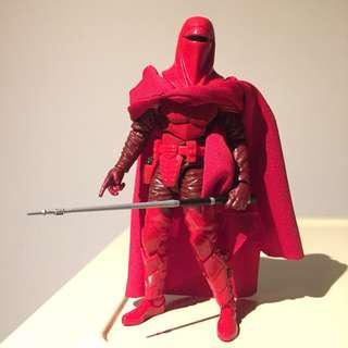 "6"" Star Wars Black Series Imperial Royal Red Guard"