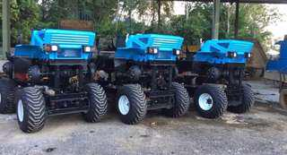 Palm oil Agricultural tractors for rent