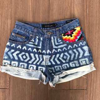 🚚 Tribal Highwaisted Denim Shorts #under9