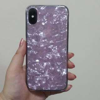 (Sales) BN IPhone X Pink Jelly Handphone Cover