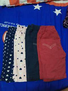 全新 女童 褲子