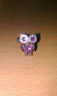🚚 貓頭鷹戒指