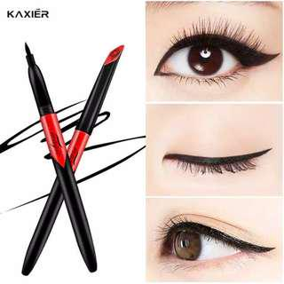 KAXIER Black Anti Air Liquid Eyeliner Pencil Make Up Beauty Long Lasting .