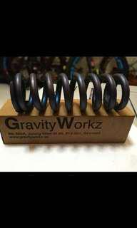 """Gworkz titanium coil spring 375lbs x 3"""""""