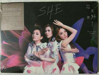 [Music Empire] S.H.E. - 《花又开好了》‖ 13th Album Blossom CD + DVD Album