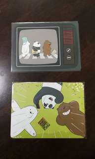 We Bare Bears postcards