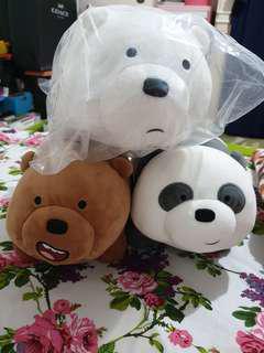 We Bare Bears Boneka Ada Kakinya 4