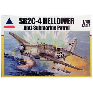 BNIB Accurate Minatures 1/48 SB2C-4 Helldiver Anti-Submarine Patrol + many aftermarket extras