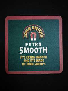 🚚 John Smith's Beer Coaster/Mat🍻