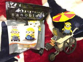 Minions 小黃人 Bob 積木人 Lego Nano block