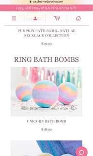 Charmed aroma bath bomb new