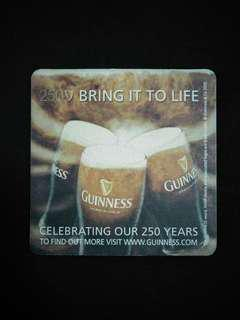 🚚 Guinness Beer Mat/Coaster🍻
