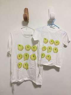 JNBY 親子 T-shirt 棉質上衣