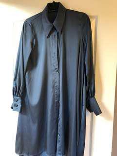 ZARA long blouse-dress