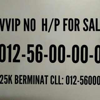 No HP untuk dijual