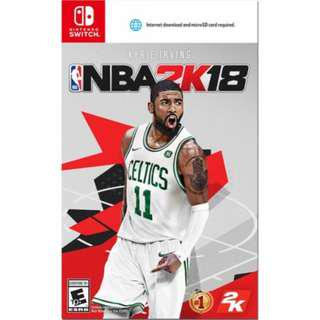 Nintendo Switch NBA 2K18