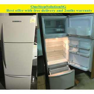 Fisher and Payke (415L)l 3doors big refrigerator / fridge ($350 + free delivery & 2mths warranty)