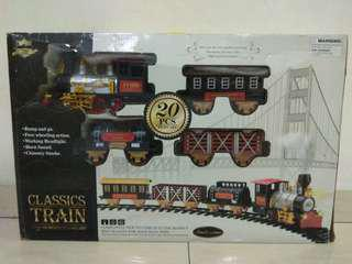 Classical Train Set battery operated