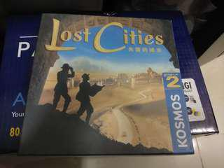 Board Game 桌遊 Lost Cities 失落的城市
