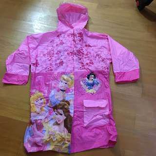 公主兒童雨衣 princess raincoat