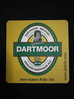 🚚 Dartmoor Beer Mat/Coaster🍻