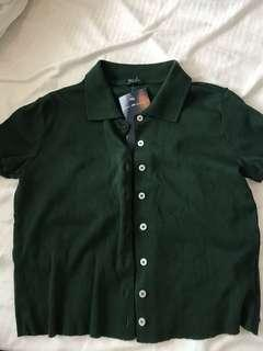 Brand new forest green Brandy Top